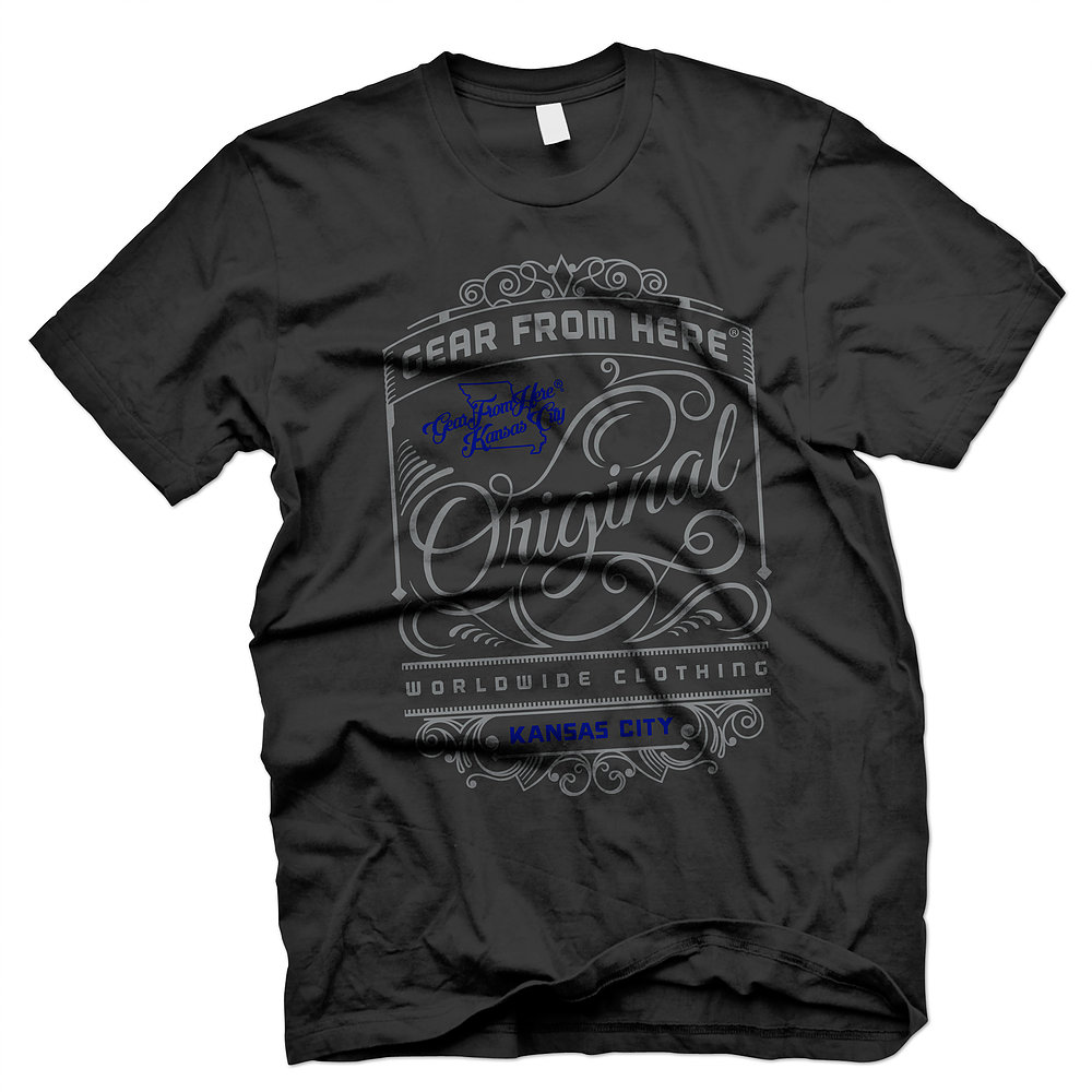 Gear From Here black Original t-shirt