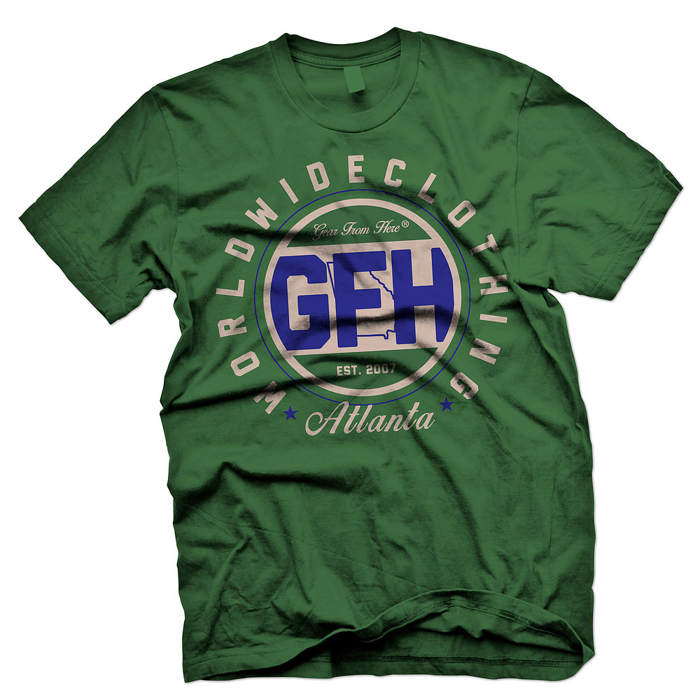 GFH Atlanta green t-shirt