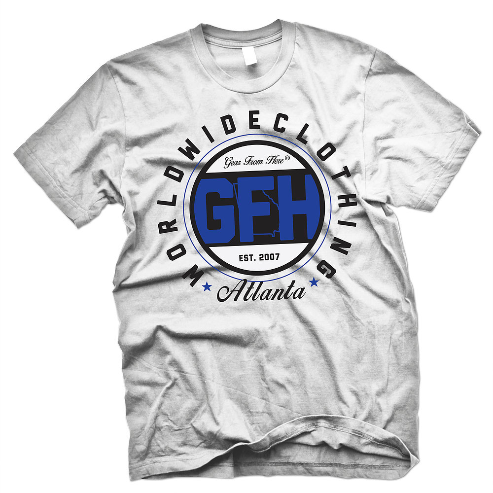 GFH Atlanta white t-shirt