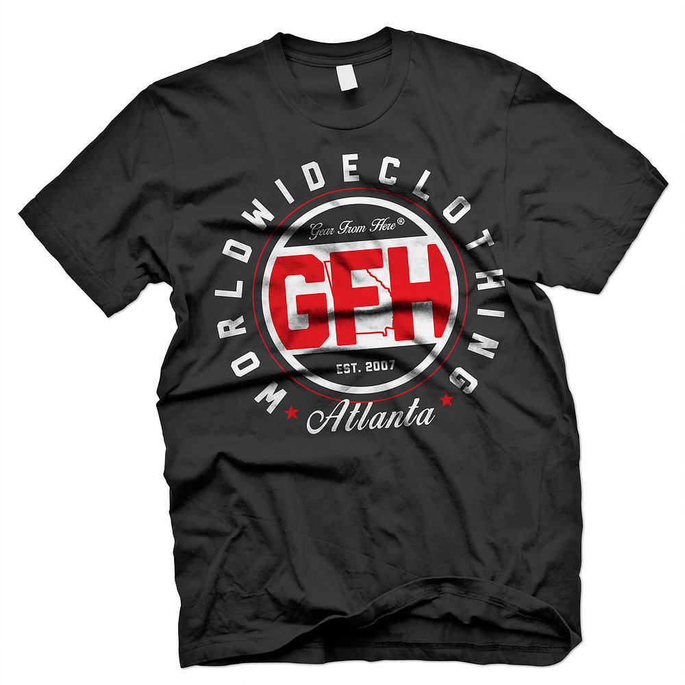 GFH Atlanta black t-shirt