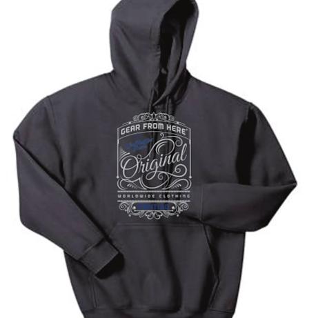 Original dark gray hoodie