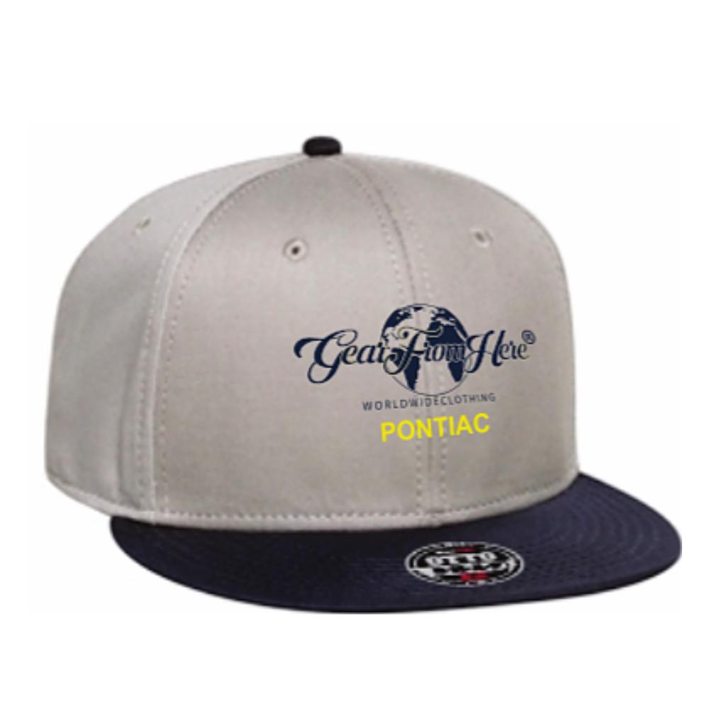 Tan Pontiac logo hat