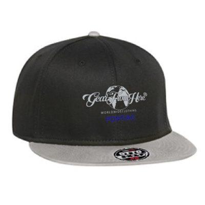 Black Pontiac logo hat